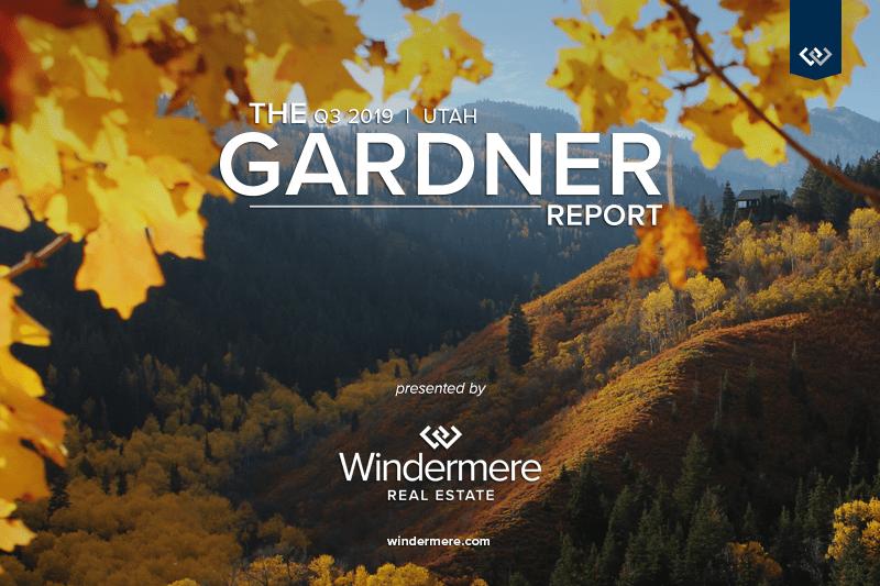 Q3 Gardner Report: Utah Real Estate Market Trends